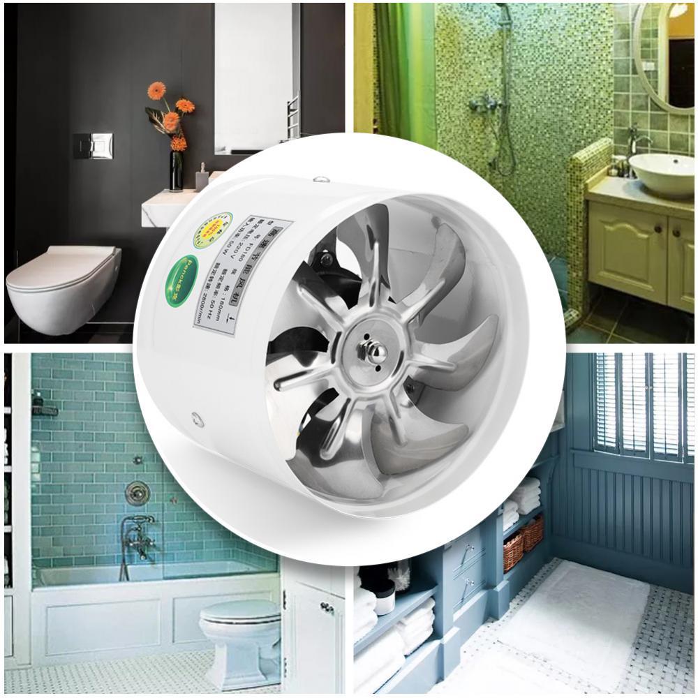 220V Wand Abluftventilator Lüftungsventilator Badezimmer Küche Vent ...