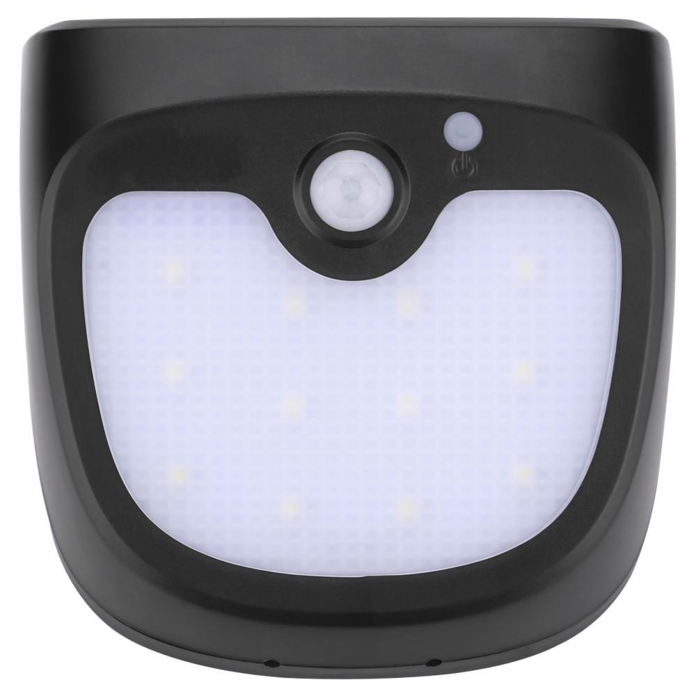12led solarleuchte sensor mit bewegungsmelder solarlampe wandleuchte au enlampe ebay. Black Bedroom Furniture Sets. Home Design Ideas