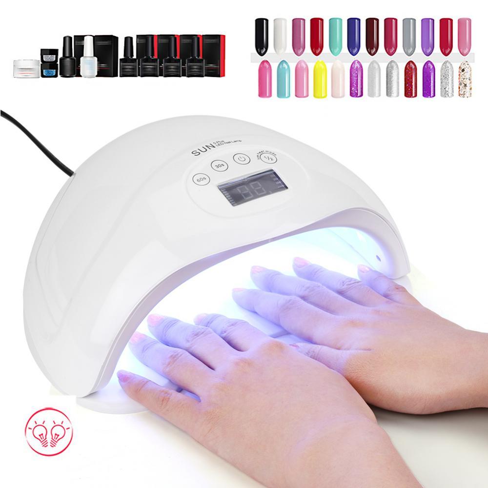 Image Is Loading 48W Sun5 Plus UV Nail Dryer Gel Polish