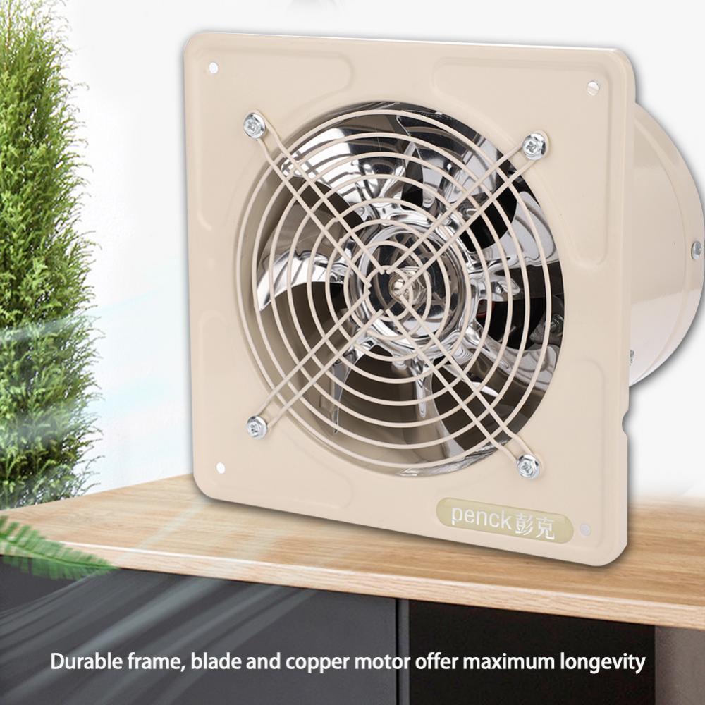 1 Von 9Kostenloser Versand 150mm Badlüfter Ventilator Wandlüfter Abluftventilator  Badezimmer Küche
