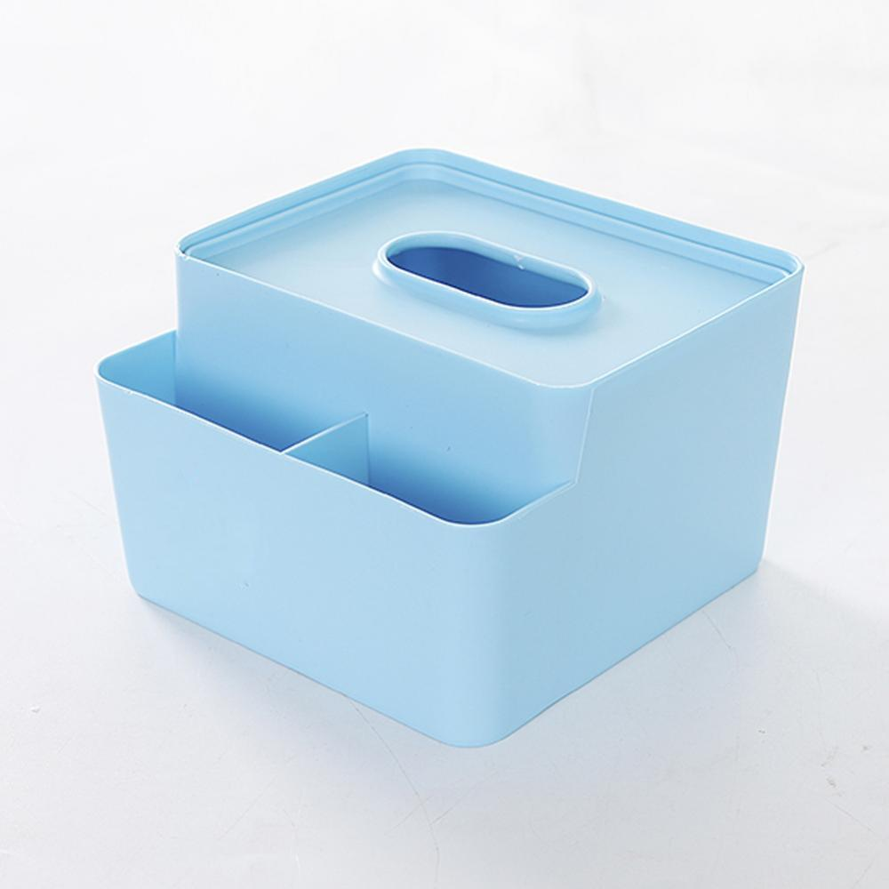 Plastic Table Tissue Holder Paper Makeup Storage Container