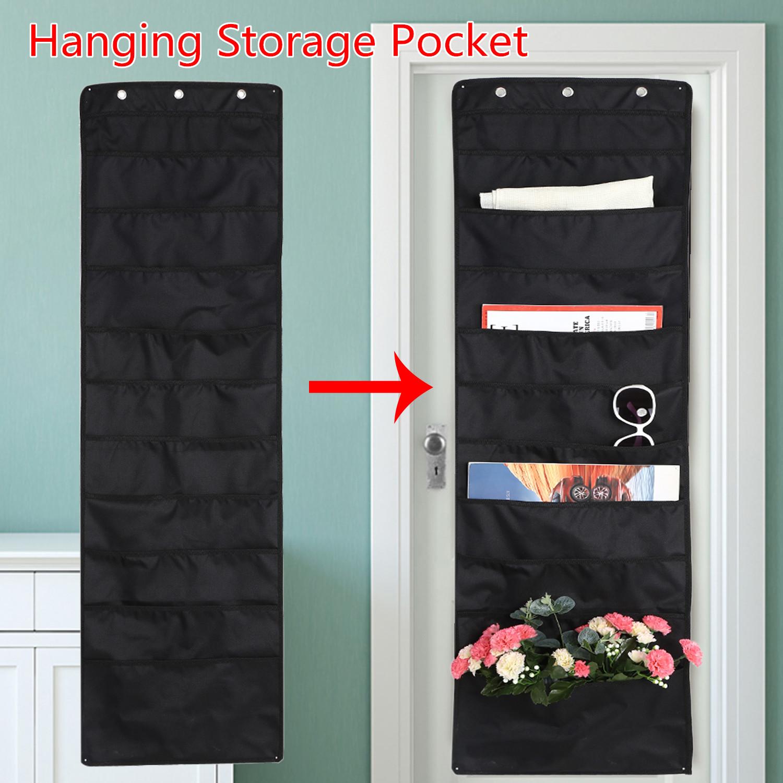 Door Wall Hanging Storage Bag 10 Grids
