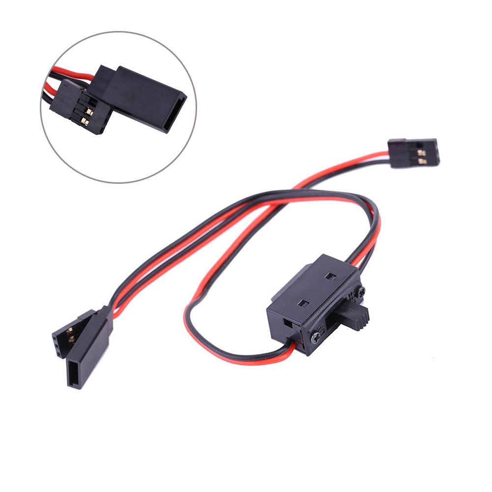 3 Way On Off Switch W Jr Receiver Cable Lead Ss For Futaba Rc Boat Car Flight