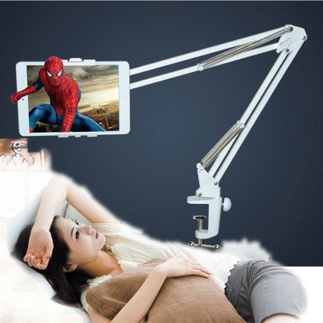 verstellbar halterung halter smartphone tablett tisch bett. Black Bedroom Furniture Sets. Home Design Ideas