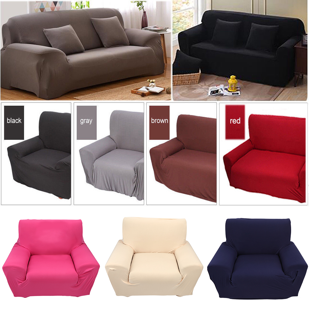 Swell Details About 1 2 3 4 Seater Sofa Cover Elastic Soft Loveseat Cover Slipcover Furniture Cover Andrewgaddart Wooden Chair Designs For Living Room Andrewgaddartcom