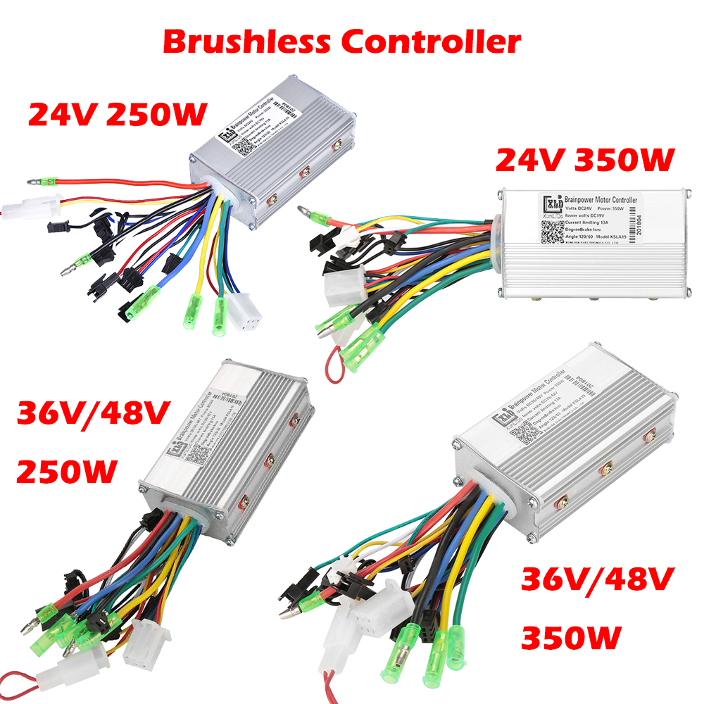 250W-1500W Brushed Brushless LCD Controller Scooter E-bike Electric Motor LCD