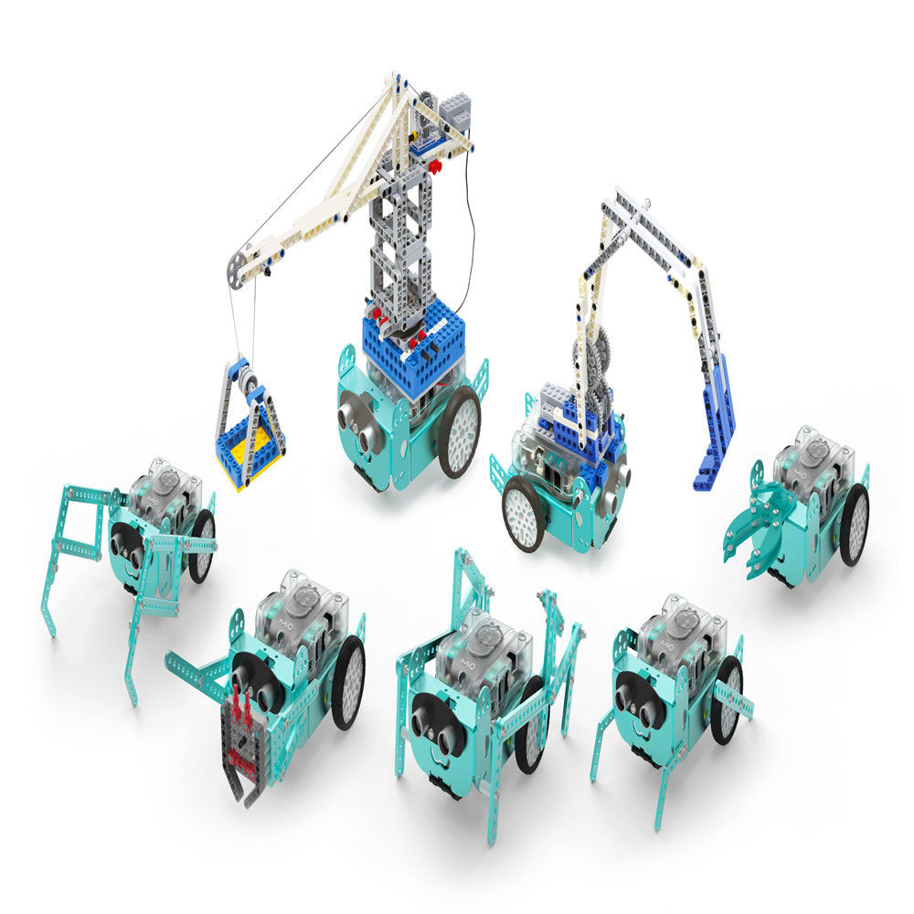 Details about Mio Robo3 STEAM Robot Bluetooth Remote Control Mbot APP  Scratch Programming