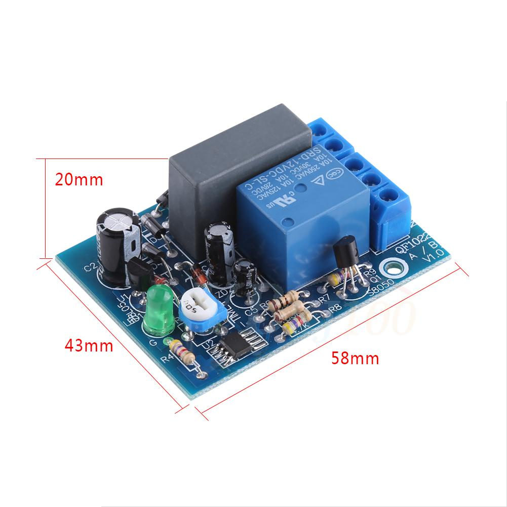 Ac 220v Trigger Delay Switch Turn Off Board Timing Timer Relay Module 4 Types