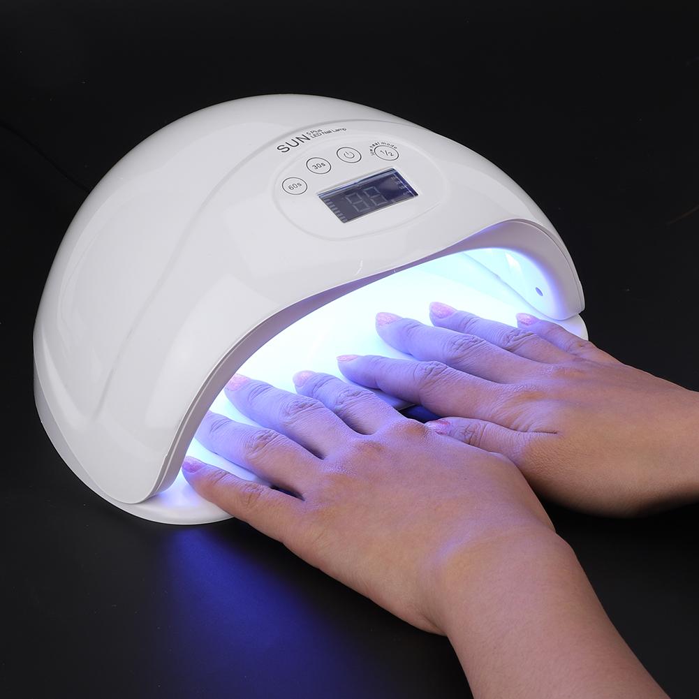 Sun5 Plus 48w Led Uv Nail Lamp Light Gel Polish Dryer