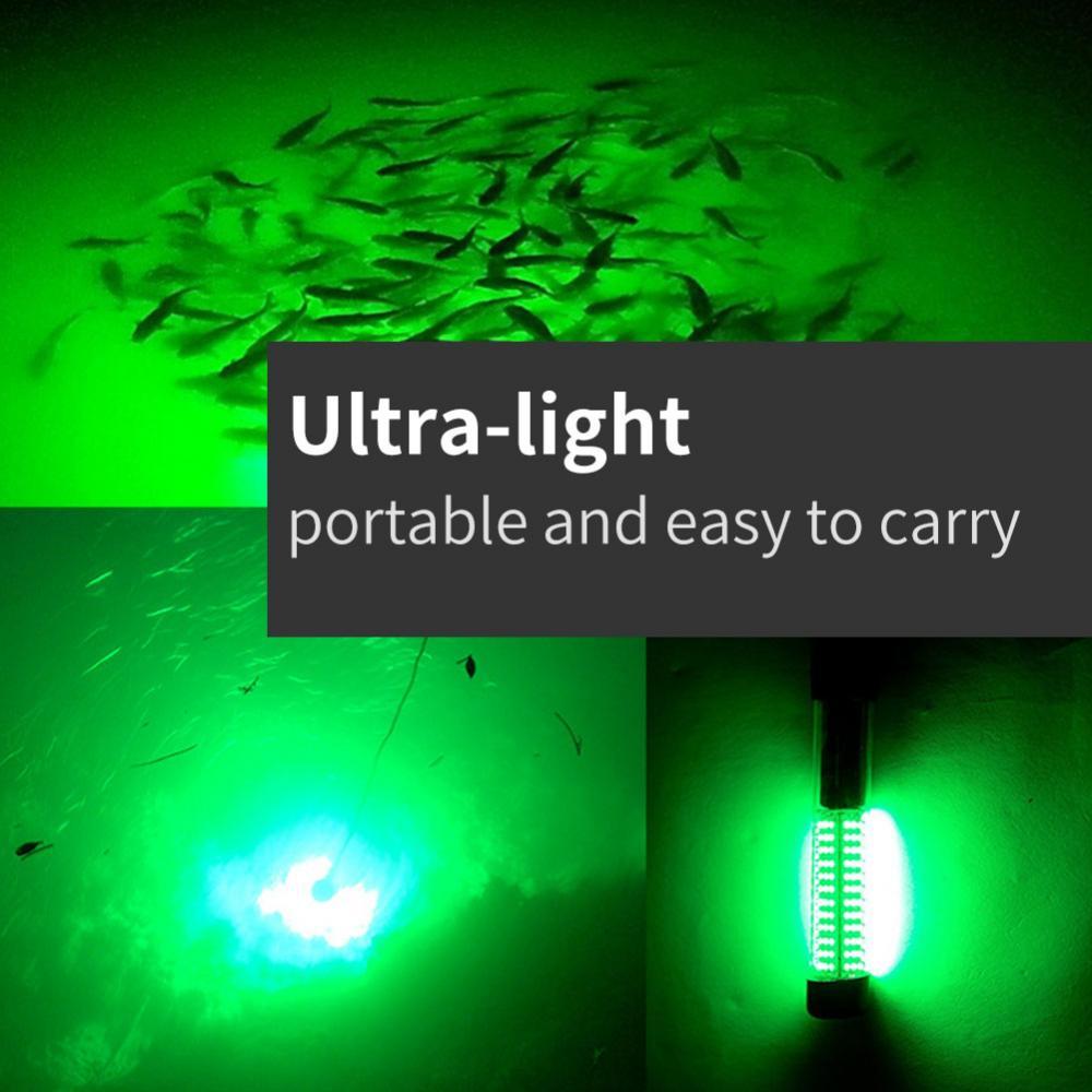 Unterwasser Angeln Licht LED Lampe Fischköder Knicklichter Bissanzeiger GF 06