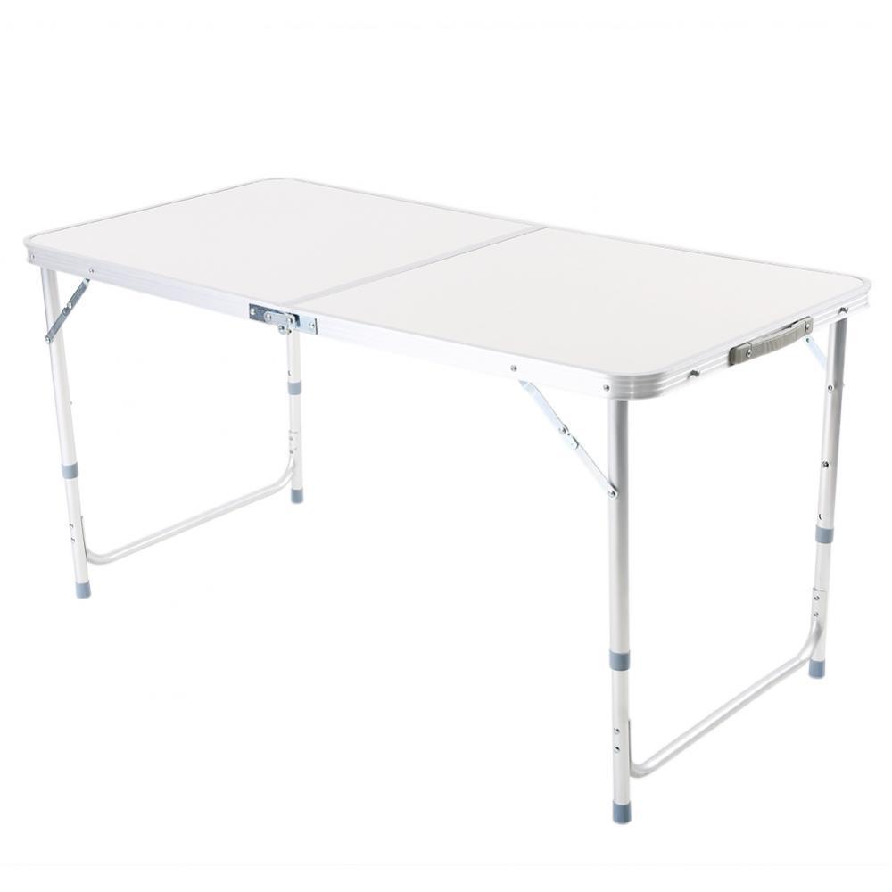 4ft folding outdoor camping table aluminium picnic. Black Bedroom Furniture Sets. Home Design Ideas