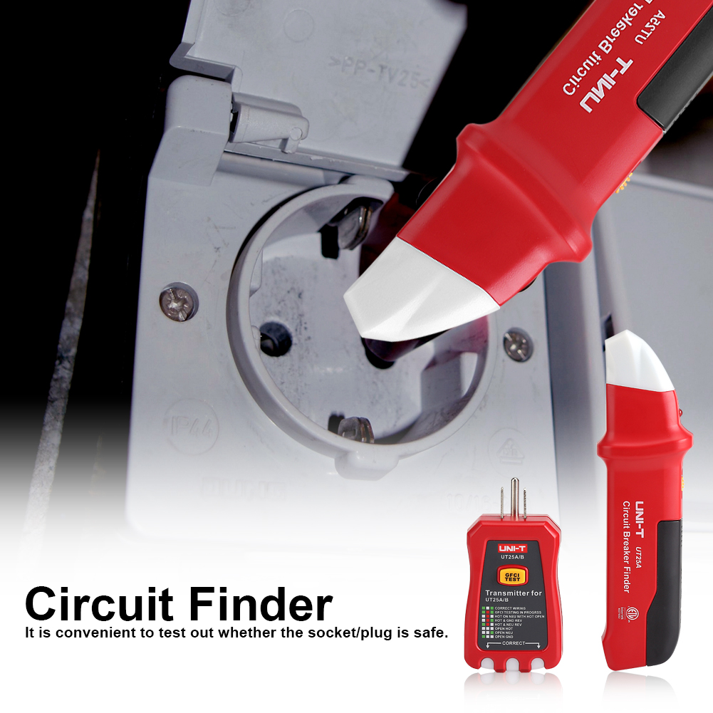 Ut25a B Led Automatic Electrical Circuit Breaker Finder Locator How Do Finders And Testers Work Electronic Cable Wire Tracker Repair Tester Us