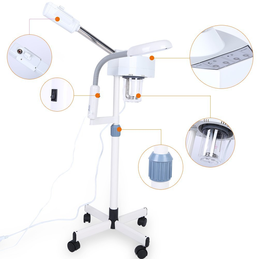 Microdermabrasion 2 In1 Ozone Facial Steamer With