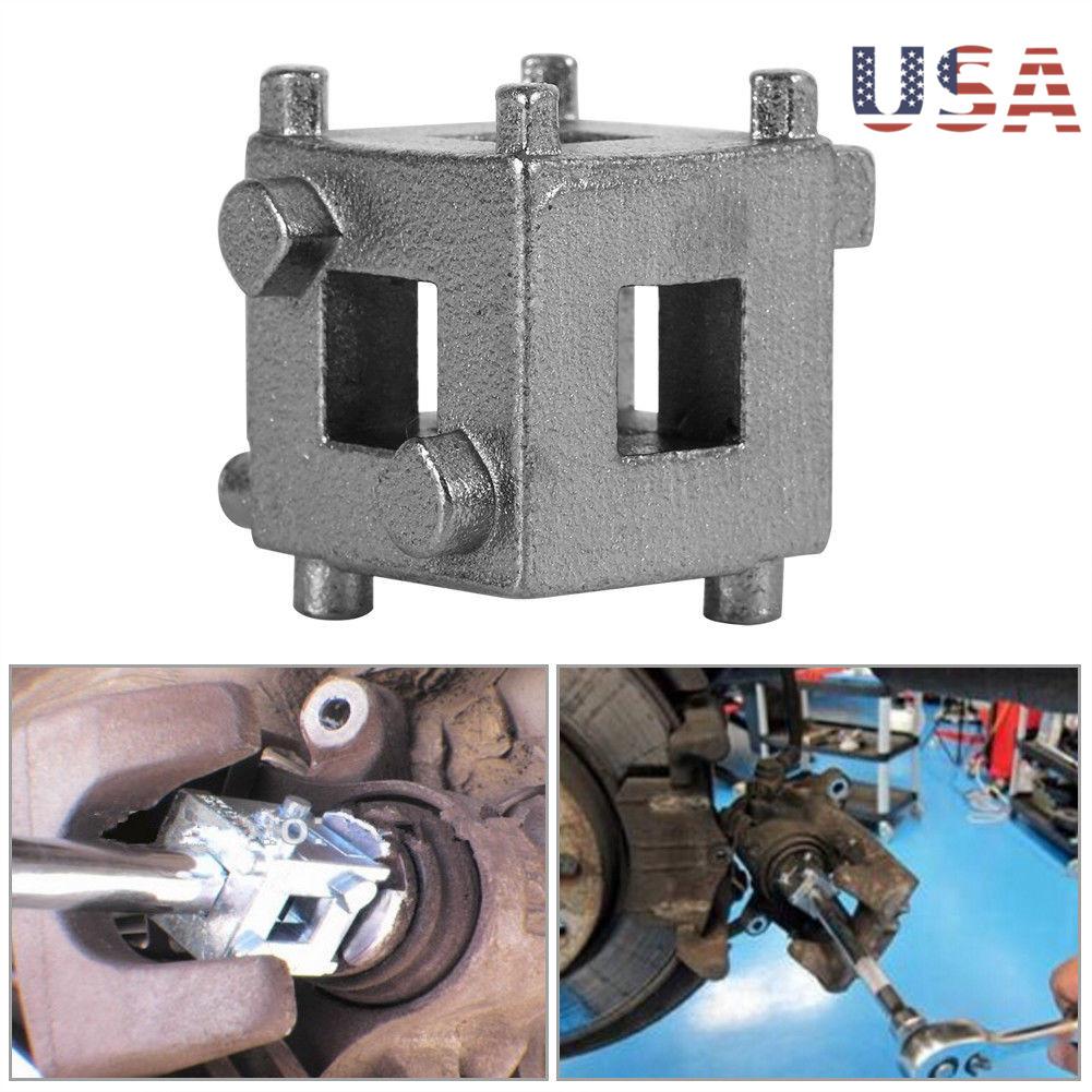 "NEW Disc Rear Brake Piston Caliper Wind Back Cube Tool 3//8/"" Adaptor"