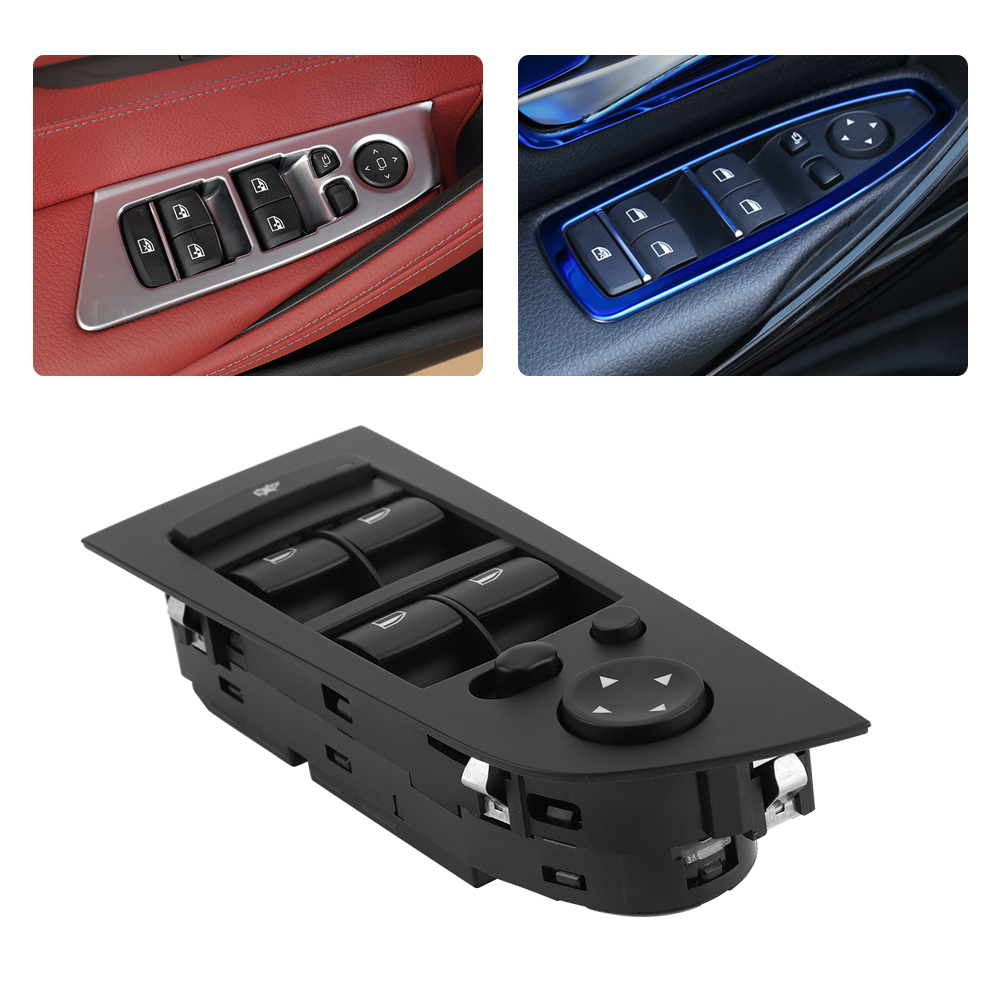 Driver left master power window switch control for bmw e90 e91 318i features fandeluxe Choice Image
