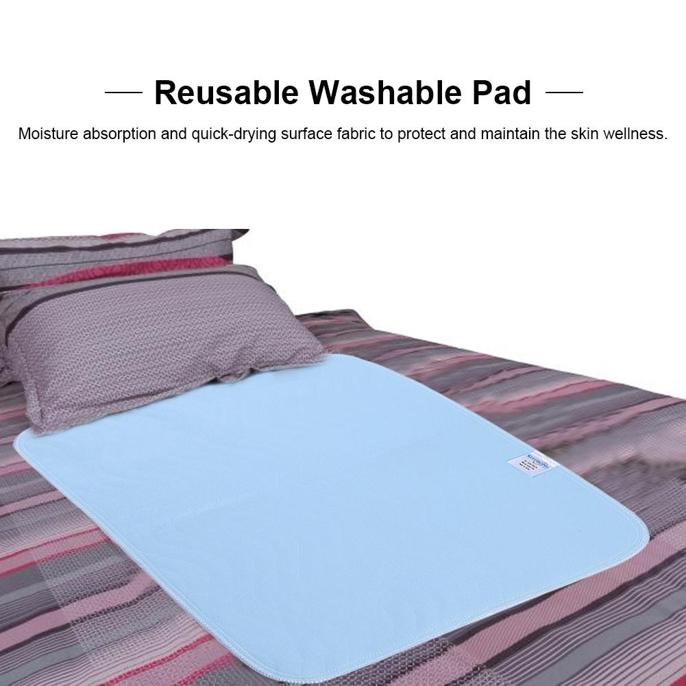 2 4 6pcs Reusable Washable Bed Pads Waterproof
