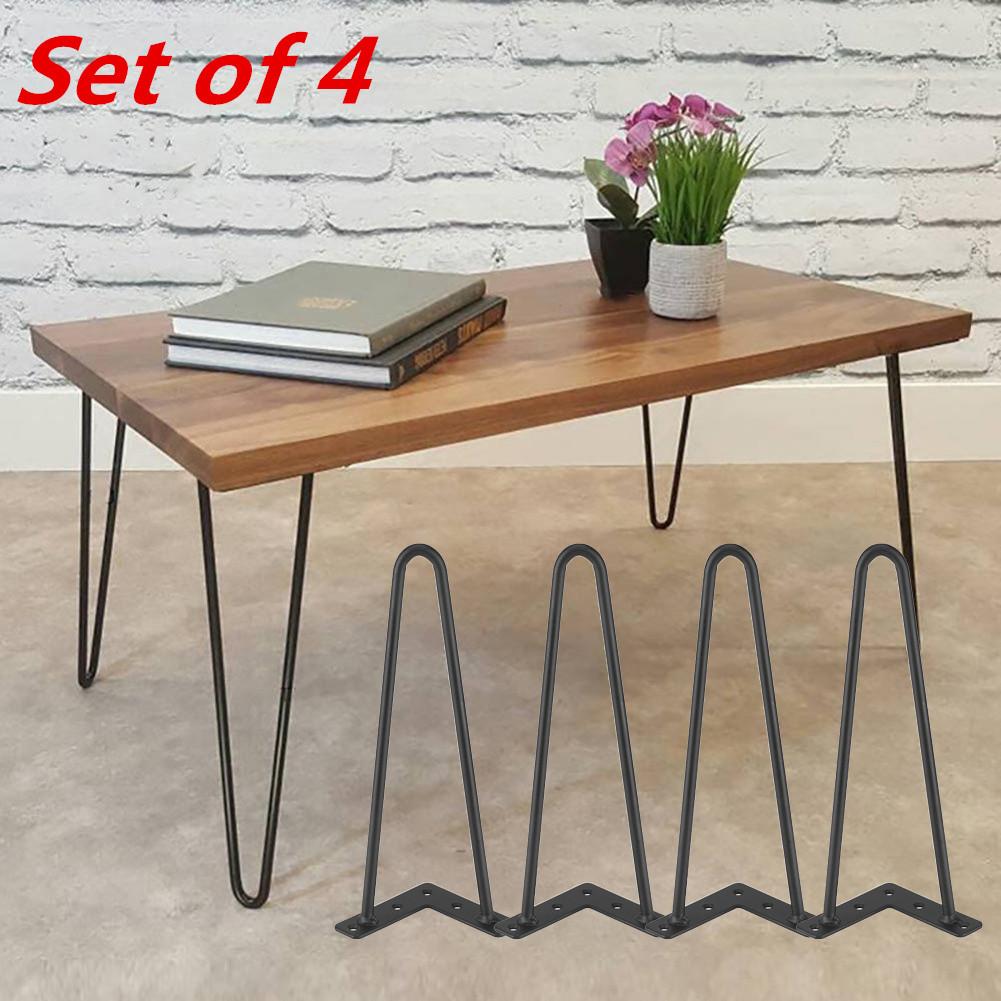 """Easy Diy Coffee Table Legs: DIY 8"""" 12"""" 16"""" 28"""" Hairpin Coffee Metal Table Legs Cabinet"""