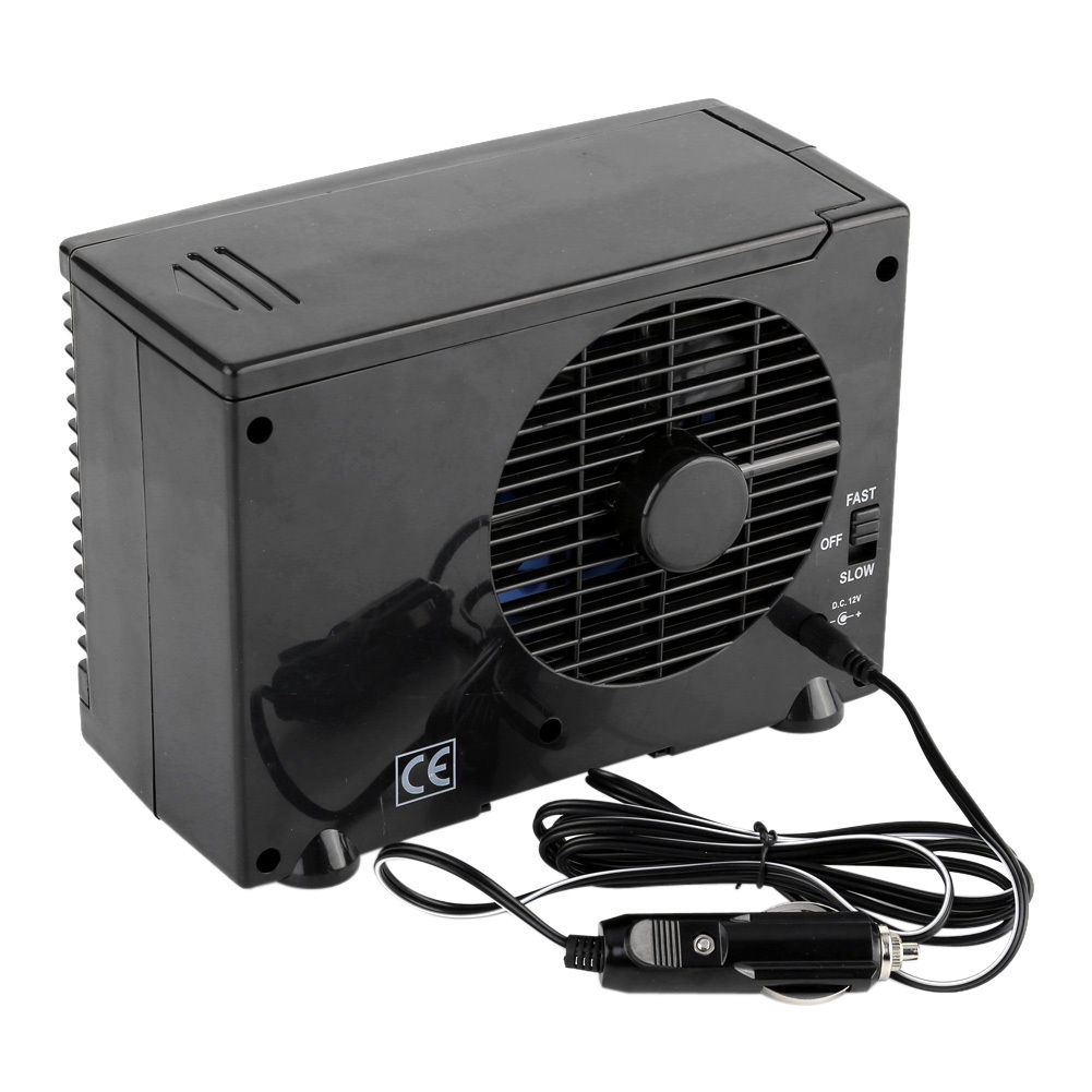 1pc Air Conditioner For Car Alternative 12V Plug In Vehicle Fan Dash Mount