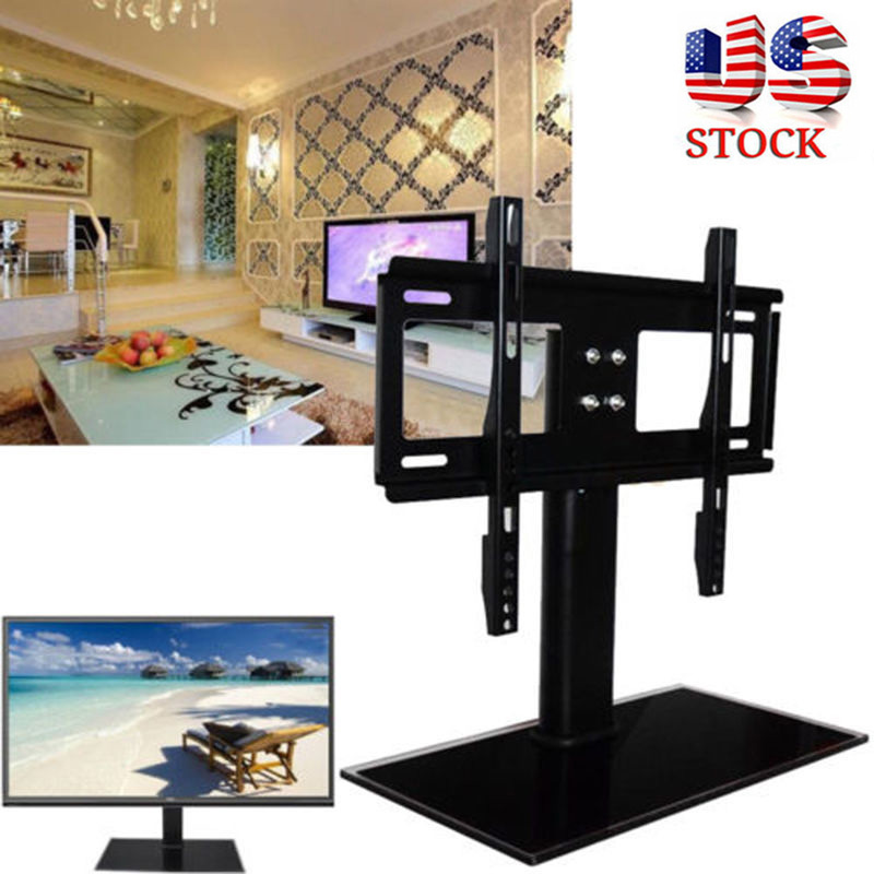 """37/""""-55/"""" Universal Table Top TV stand  Pedestal Base For Flat Screen TV"""