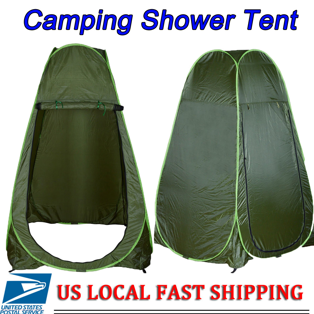 Portable Pop Up Dressing Changing Tent Camping Beach Toilet Shower - Camping bathroom tent