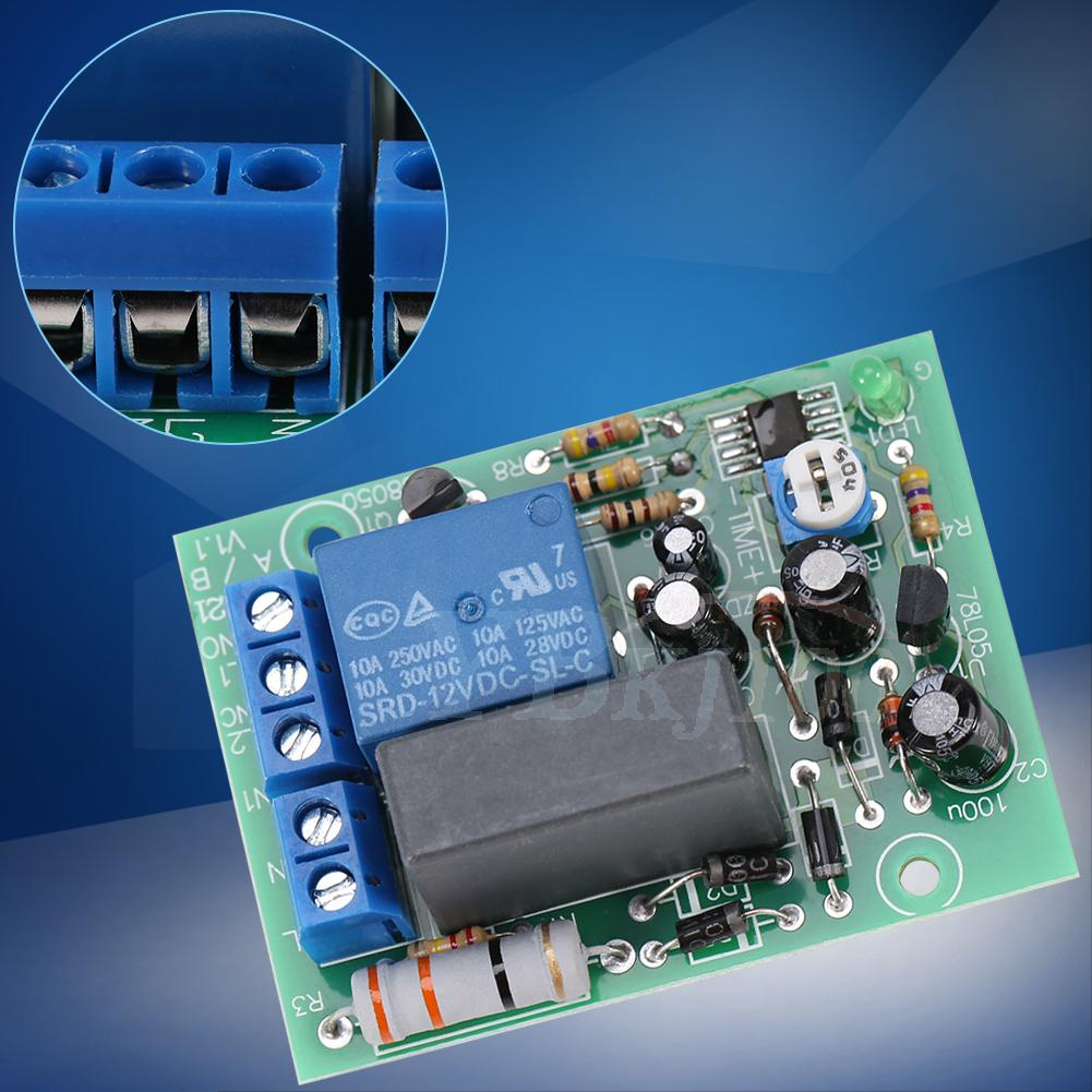 Ac 220v 250v Adjustable Delay Time Turn Off Relay Switch Timer Control Turnoff Circuit Controlcircuit Module