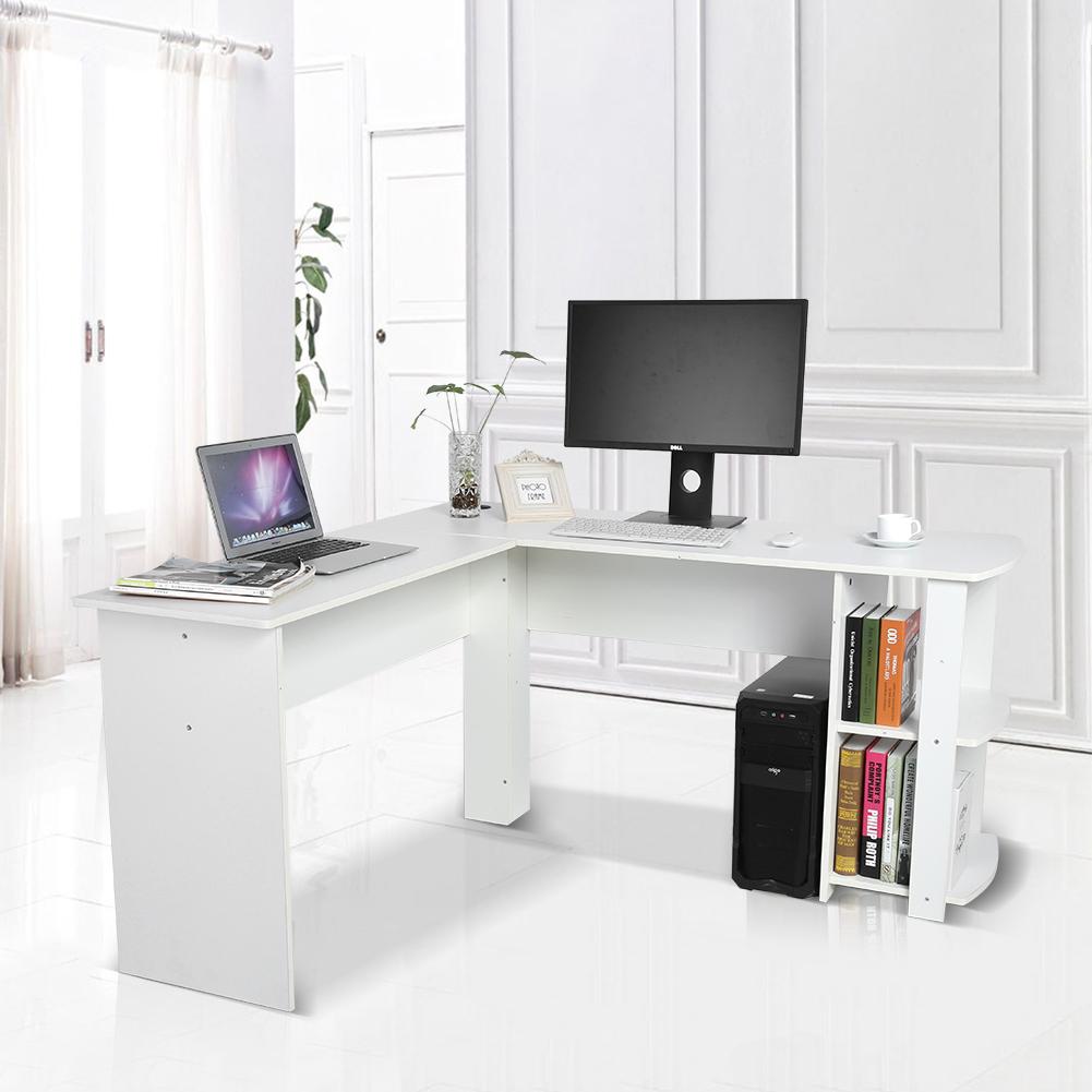 Computertisch pc tisch schreibtisch arbeitstisch for Schreibtisch l form
