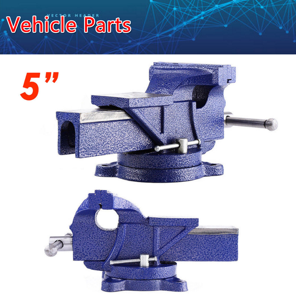 Superb Details About New 5 Work Jaw Bench Vice Vise Workshop Clamp Engineer Swivel Base Heavy Duty Pabps2019 Chair Design Images Pabps2019Com