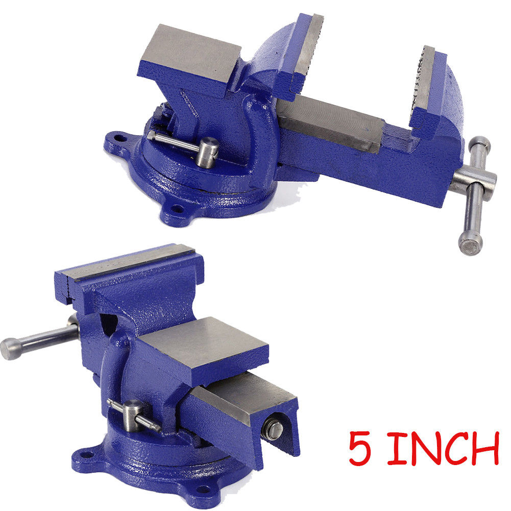 Stupendous Details About 5 Engineer Vice Vise Swivel Base 3600 Workshop Clamp Jaw Work Bench Table Uk Pabps2019 Chair Design Images Pabps2019Com