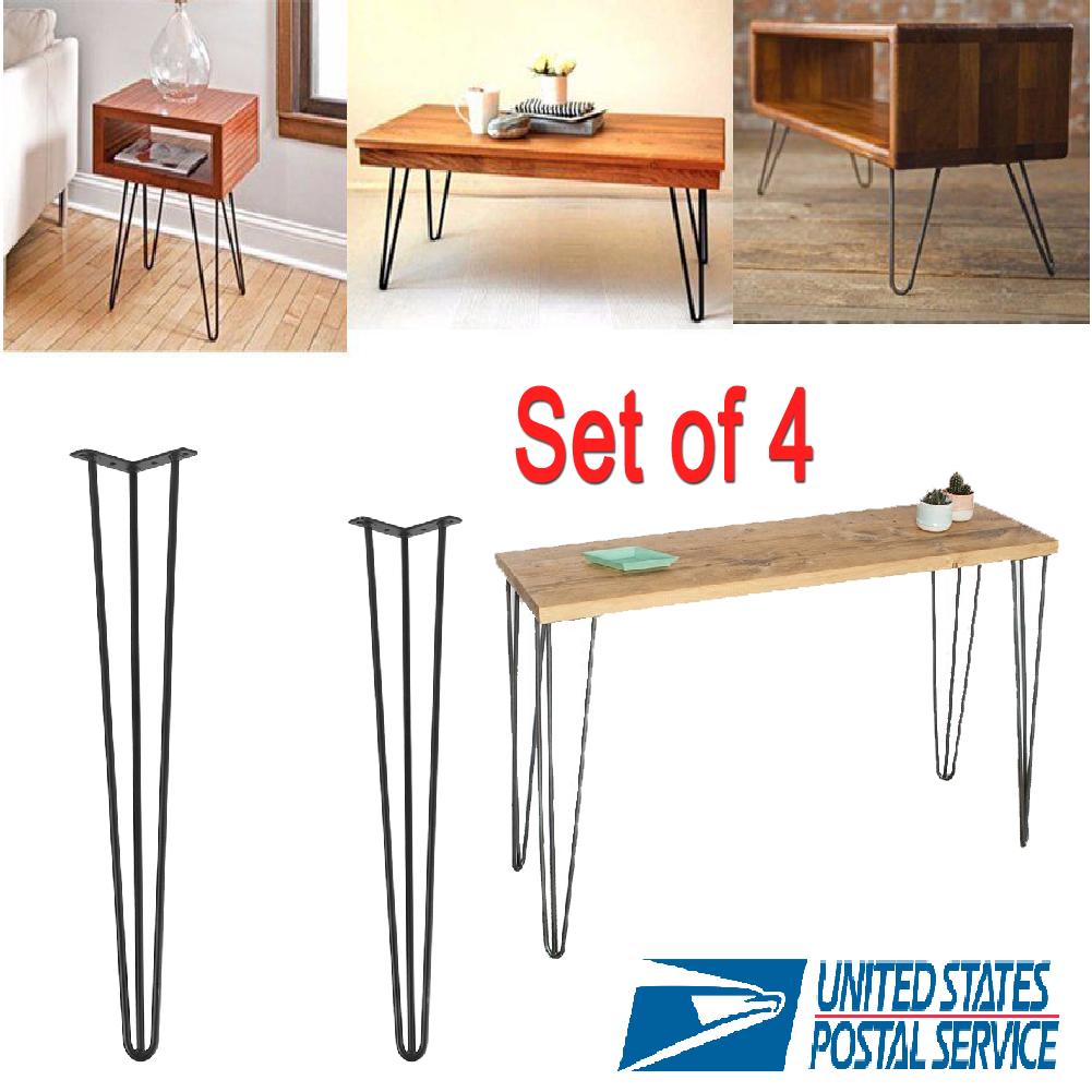 "28""30""Hairpin Coffee Table Legs Metal Furniture Laptop"