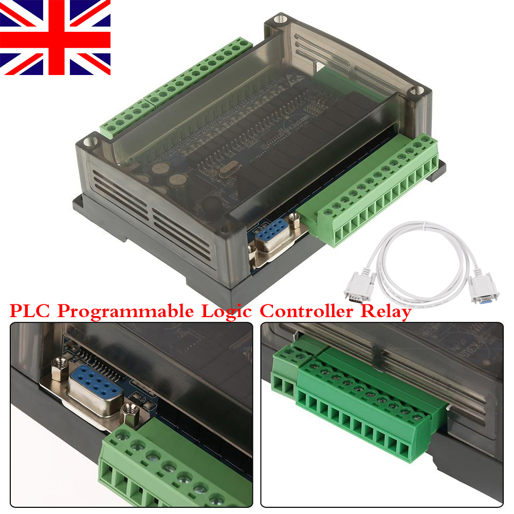 Fx3u 24mr Control Module 24v Plc Programmable Logic Controller Relay Ladder Programs Internal Relays Controllers Cable Uk