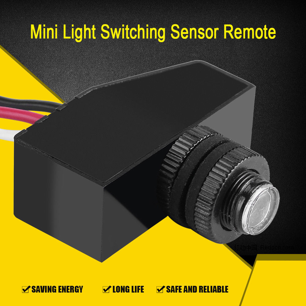 12v Mini Remote Photocell Dusk To Till Dawn Automatic