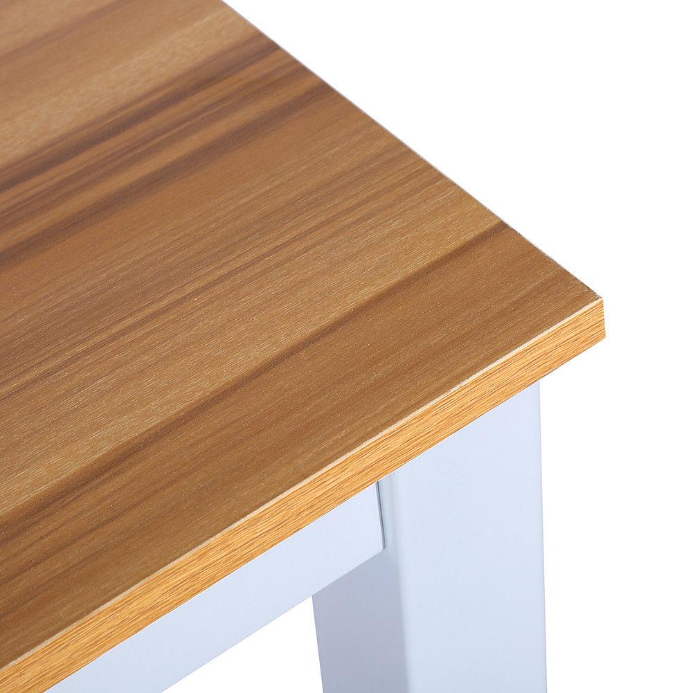 schreibtisch computertisch b ro arbeitstisch tisch holz metall 120 60 74cm top ebay. Black Bedroom Furniture Sets. Home Design Ideas