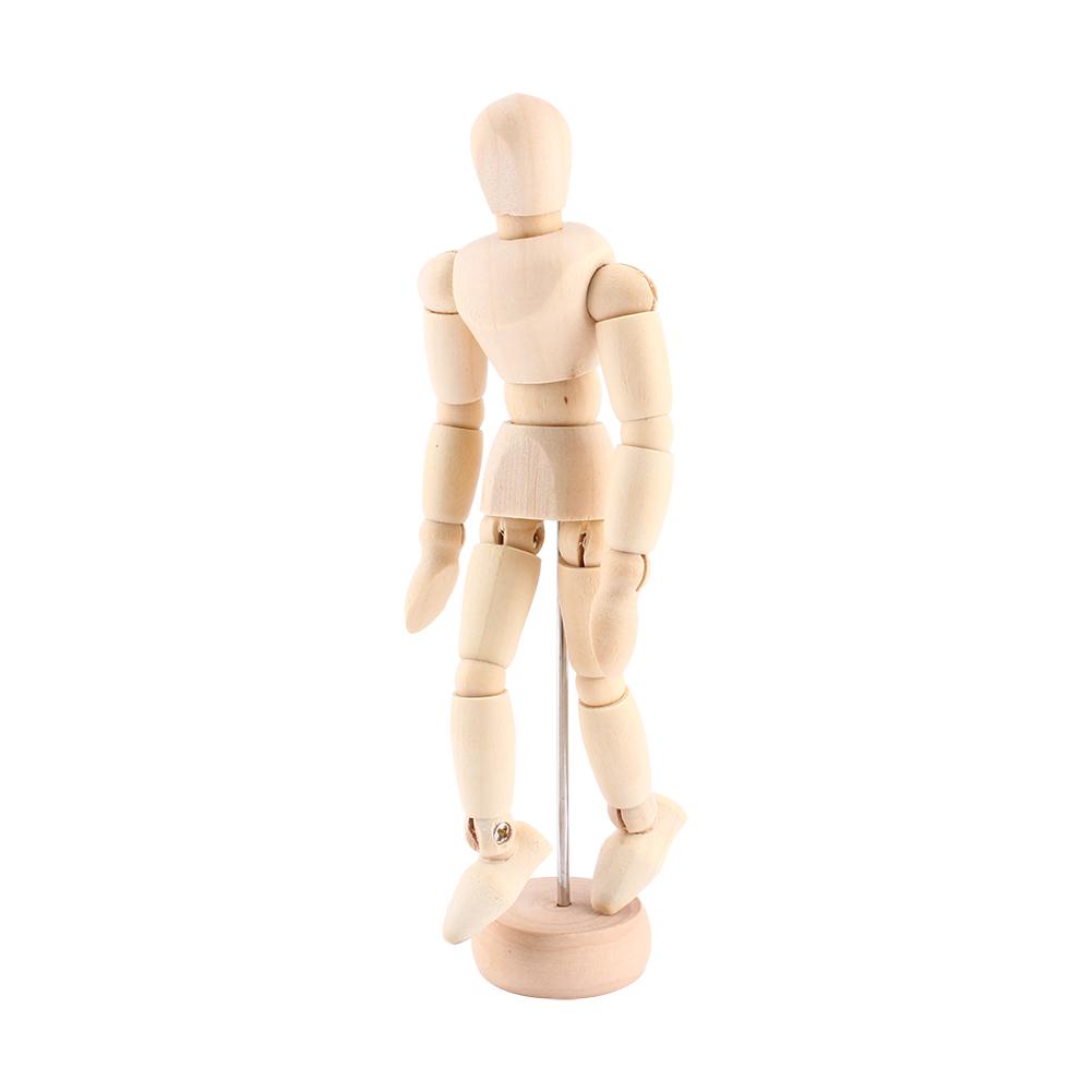 Artist Movable Limbs Male Wooden Figure Model Mannequin Art Handcraft Gift ark