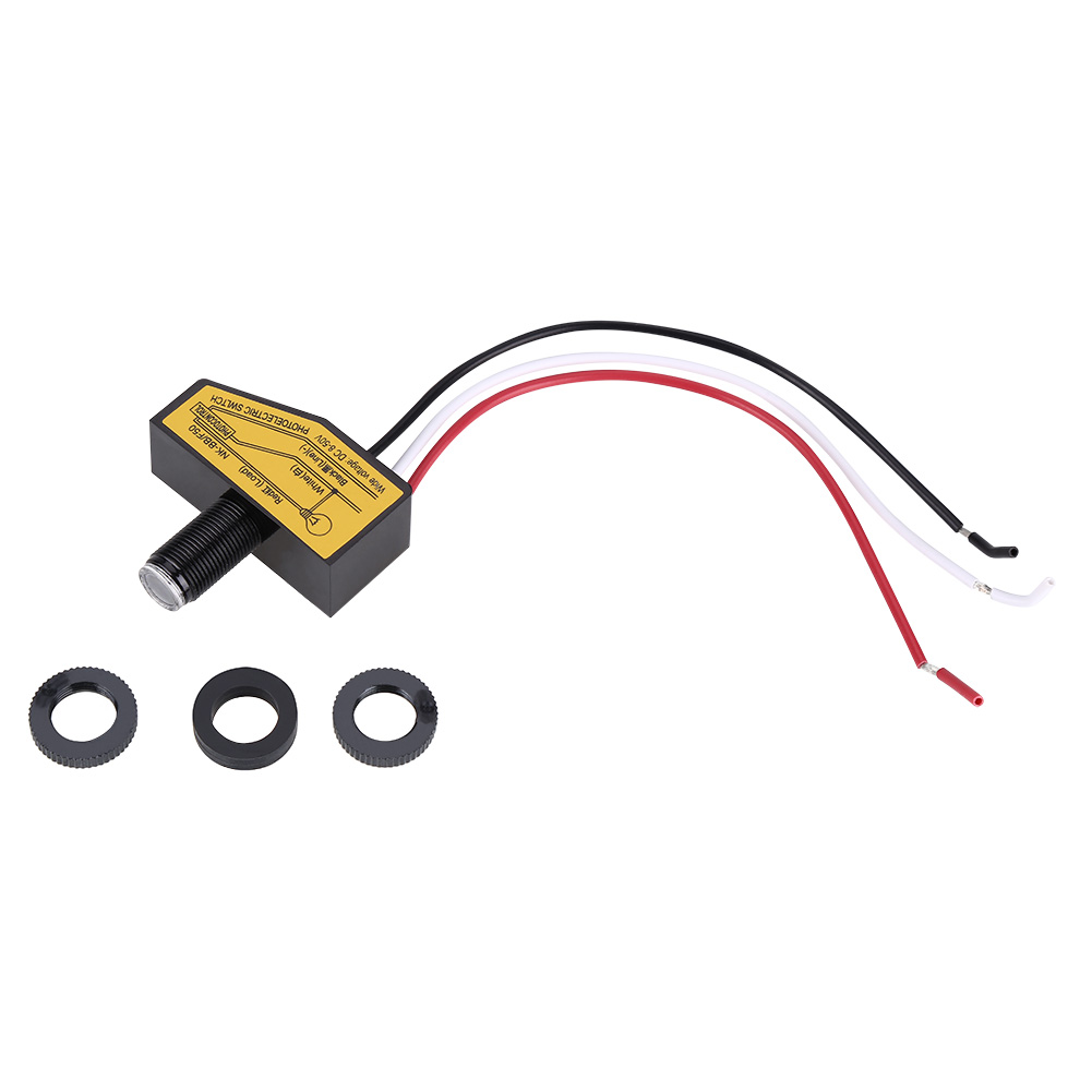 Light Control With Photocell Automatic Dusk To Dawn Sensor Switch Wiring For Led