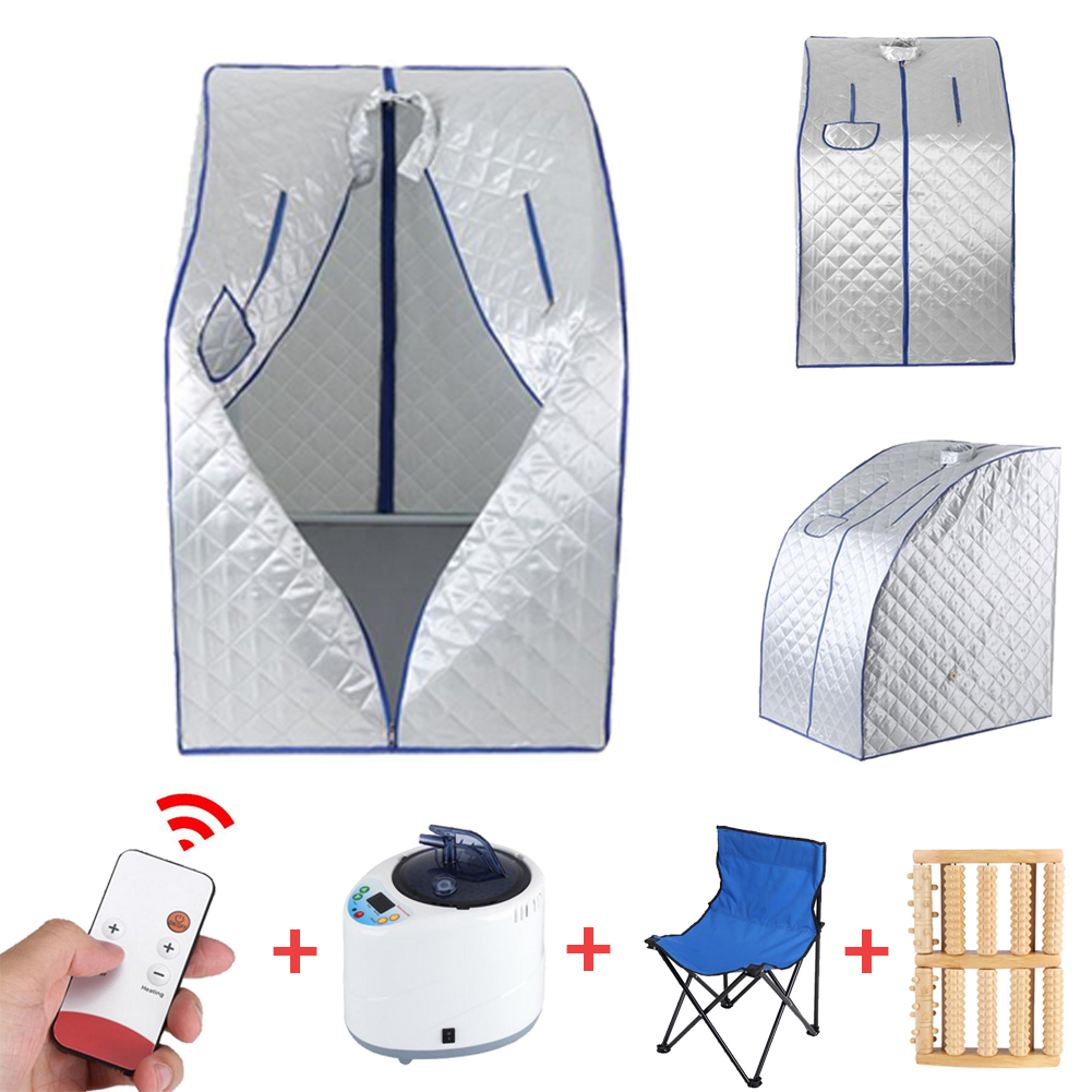 2l Portable Steam Sauna Room Tent Home Indoor Loss Weight