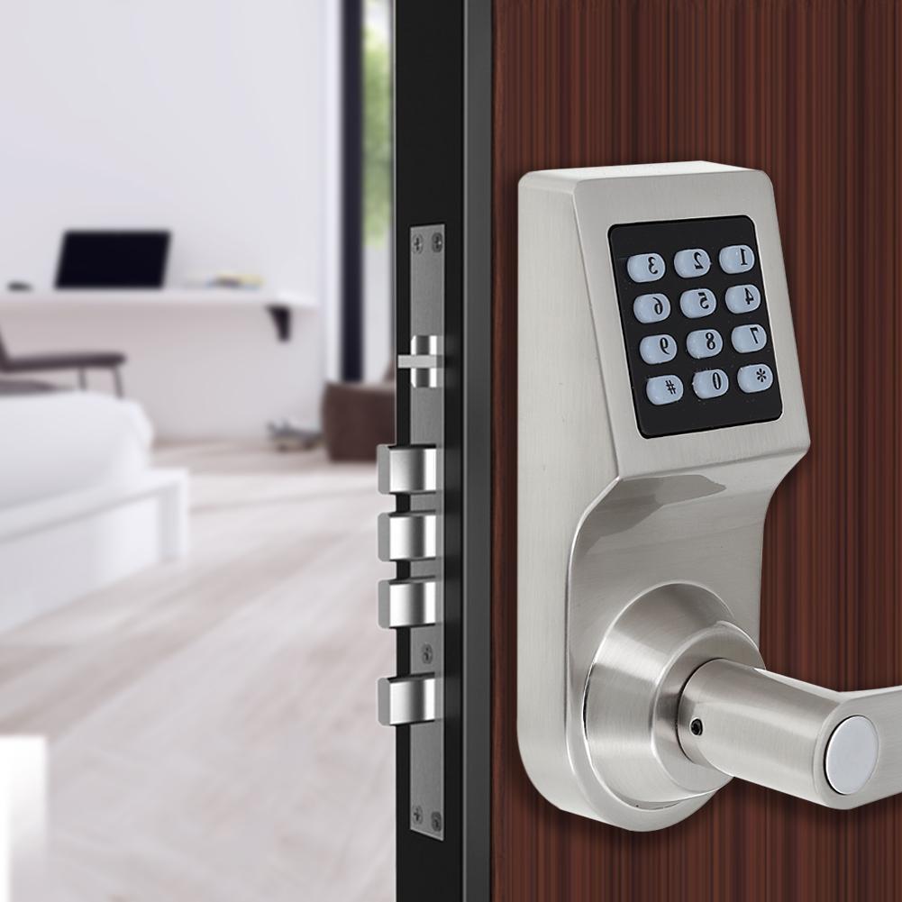Intelligent Digital Keyless Electronic Code Door Lock Rfid