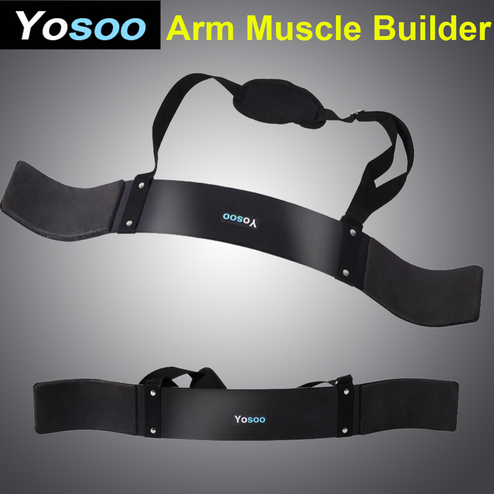 Arm Isolator Blaster Curl Body Building Builder Bomber Bicep Triceps