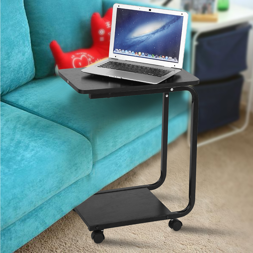 Amazing with wheel coffee tray sofa bed side table couch console stand end tables desk with couch keyboard table
