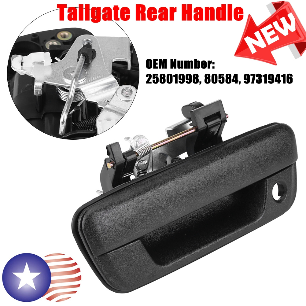 GM OEM Tail Gate Tailgate Hatch-Handle 25801998
