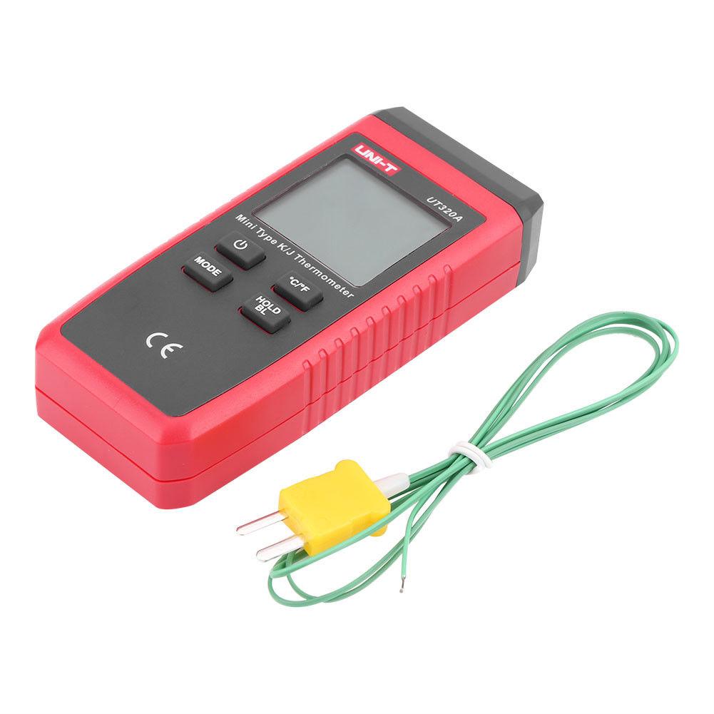 UNI-T -50-1300℃ Mini Contact Digital K/J Thermocouple Thermometer LCD Display S