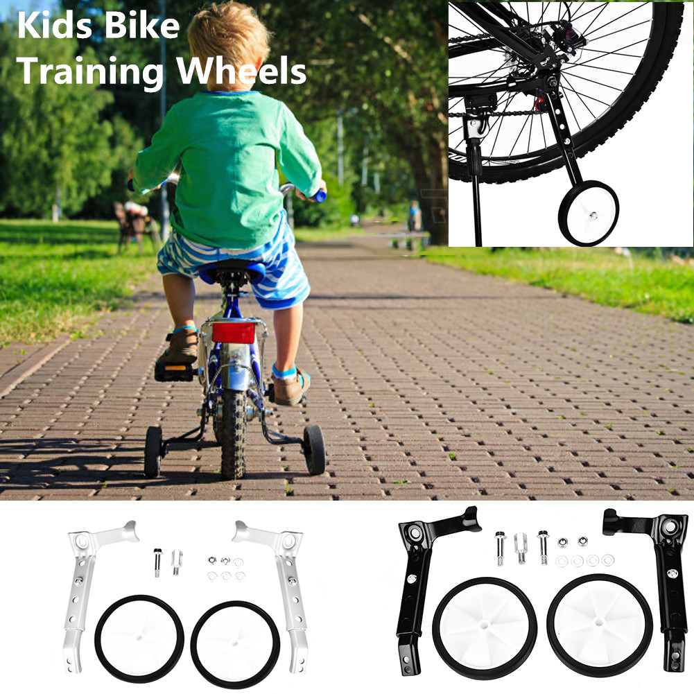 Mountain Bicycle Stabilisers Adjustable Training Aid Adjustable 16-22 inch NEW