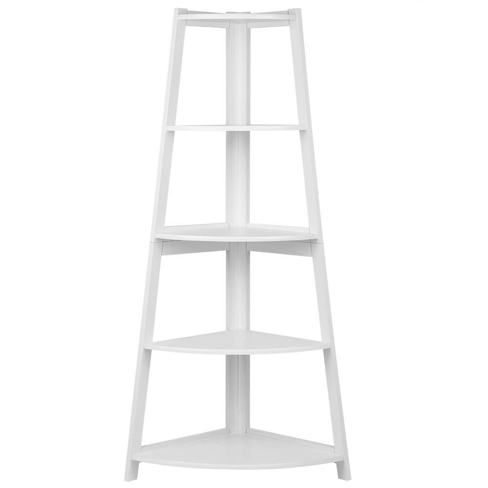 Casual Home 5-Shelf Corner Ladder Bookcase | eBay |Corner Ladder Bookshelf