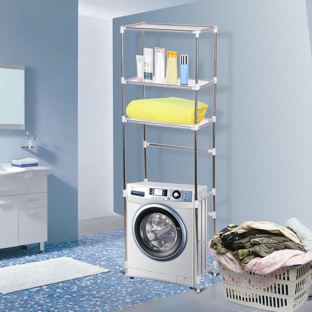 3Tier Storage Rack Over Toilet/Bathroom/Laundry/Washing Machine ...