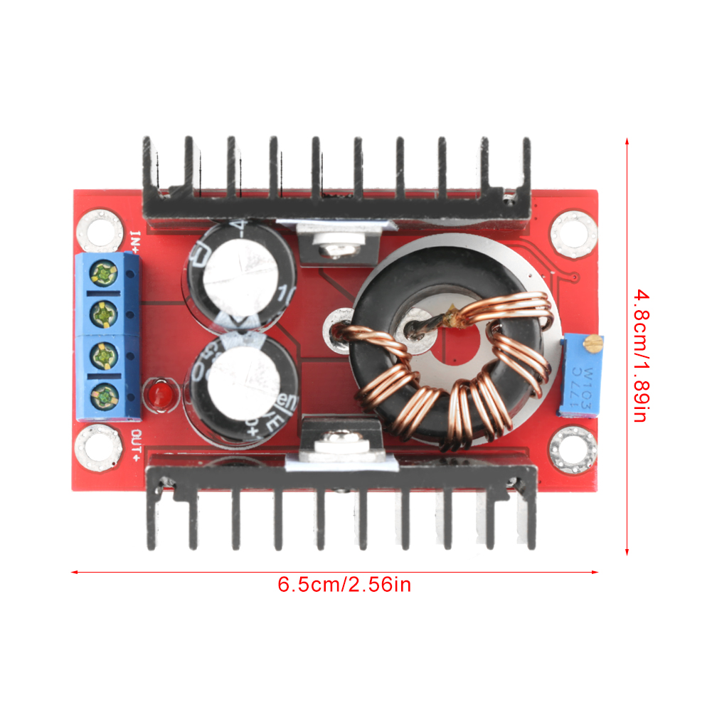 150w Boost Converter Dc 10 32v To 12 35v Step Up Voltage Bb 51 Power Supply Module
