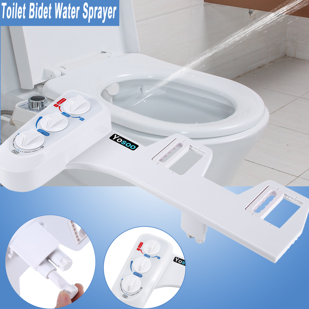 Warm Fresh Water Spray Non Electric Mechanical Bidet Toilet Seat Attachment Usa 663862610260 Ebay