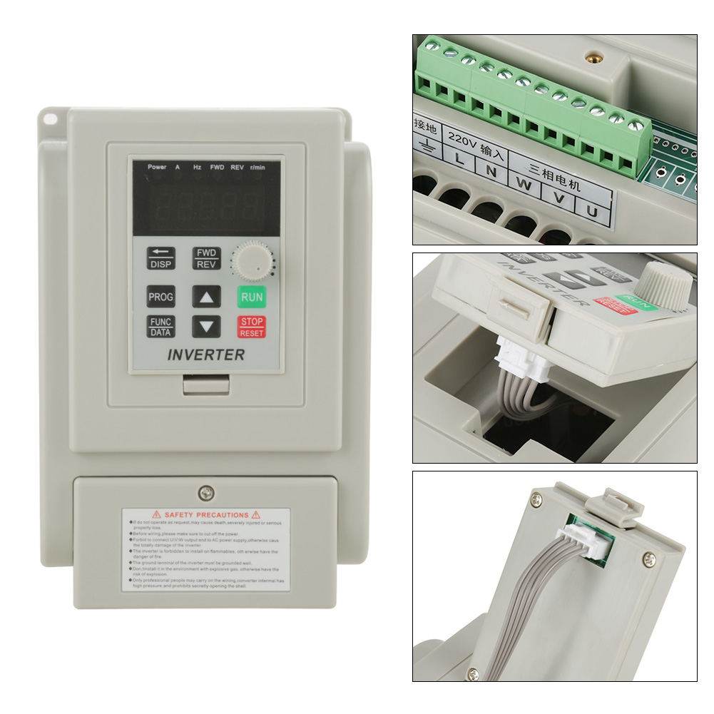 220v 2hp 15kw Single Phase To 3 Output Frequency Converter The Answer Three Converters Vfd Vsd Us