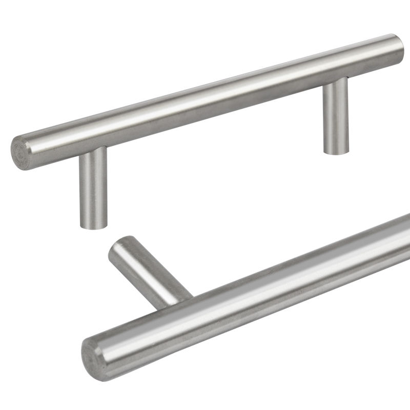 Modern Kitchen Cabinet Handles And Pulls: 20-80Pcs Modern Stainless Steel Kitchen Cabinet T Pulls
