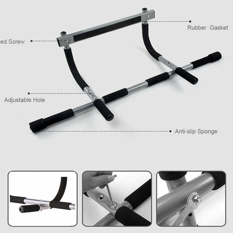 2018 Heavy Duty Doorway Chin Pull Up Bar Exercise Fitness