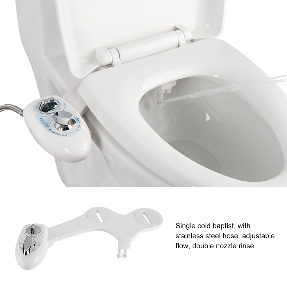 Cool Details About Dual Nozzle Cold Water Spray Bidet Toilet Seat Attachment For Women Cleaning Gmtry Best Dining Table And Chair Ideas Images Gmtryco