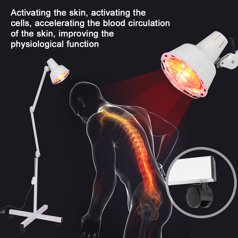 Infrared Ray Heat Light Therapy Lamp Therapeutic Pain